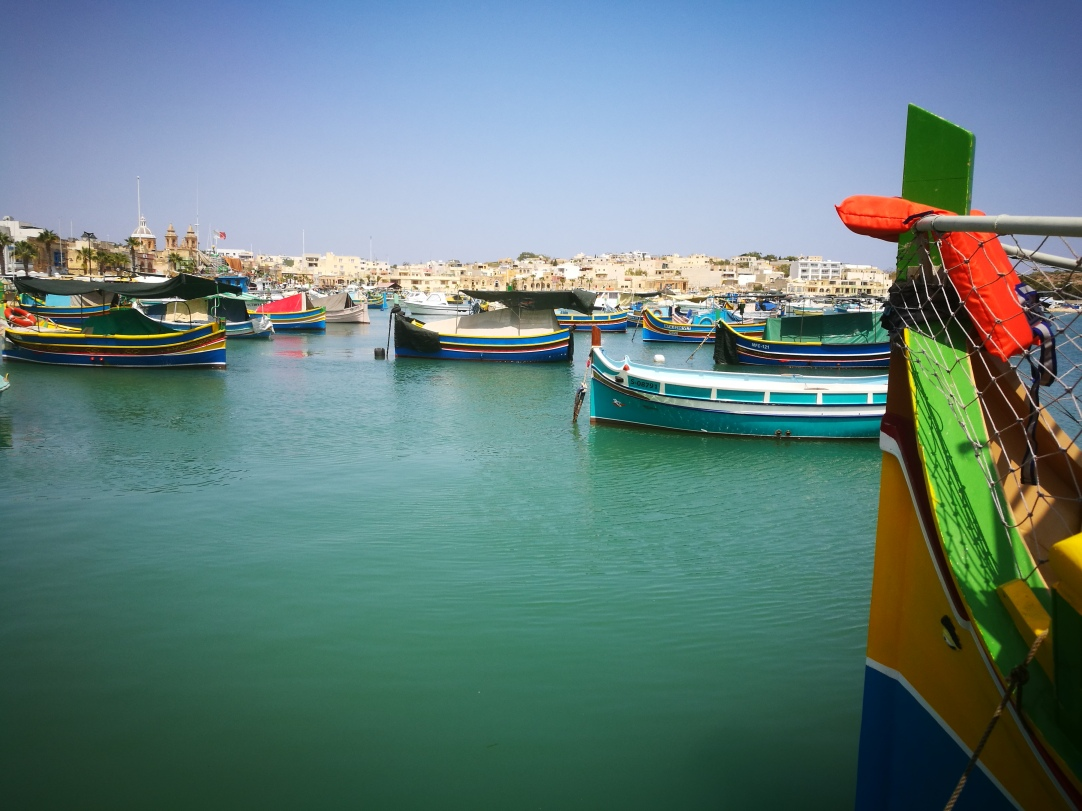 Marsaxlokk and its luzzu